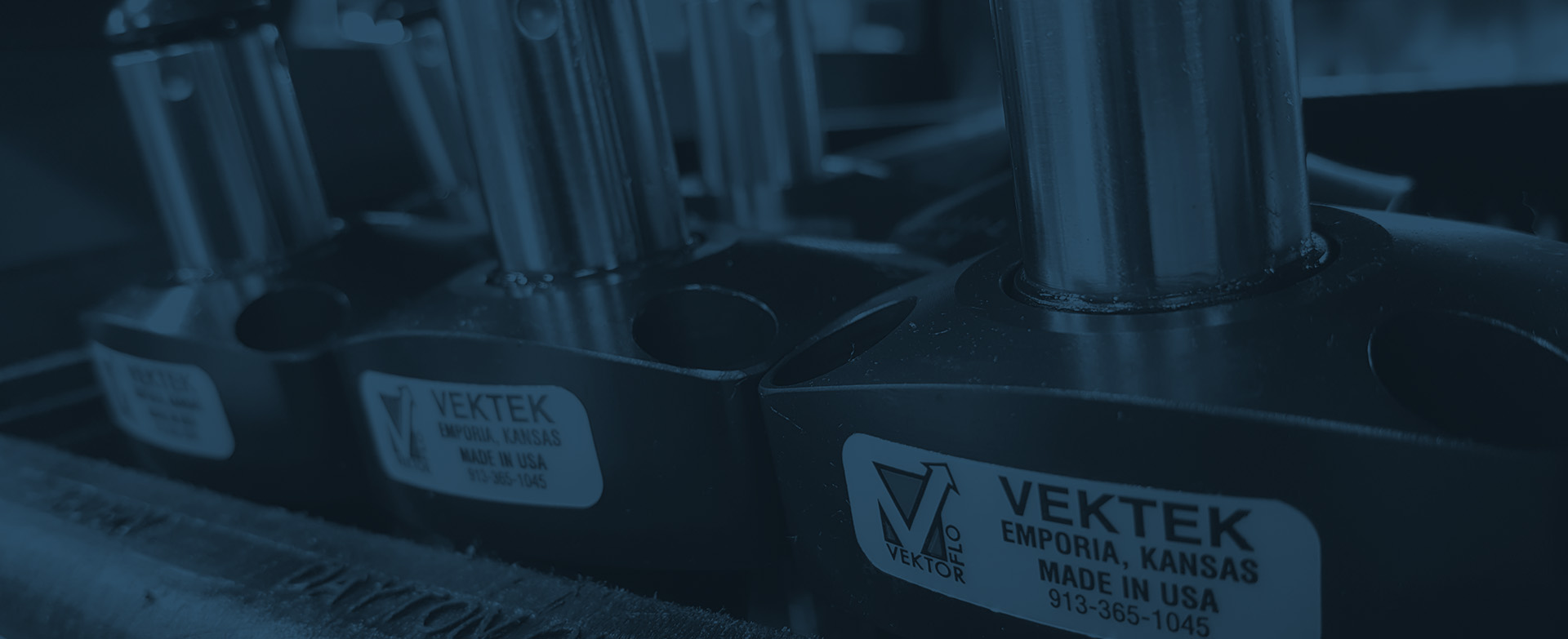 Vektek Hydraulic Clamping Products in use